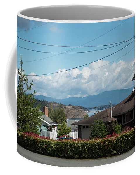 Cap Sante And Chuckanut Coffee Mug featuring the photograph Cap Sante And Chuckanut by Tom Cochran