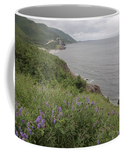 Cape Breton Coffee Mug featuring the photograph Cape Breton Coast by Sven Brogren