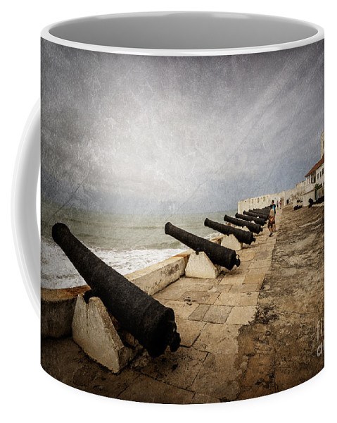 Cape Coast Coffee Mug featuring the photograph Cape Coast Castle by Naoki Takyo