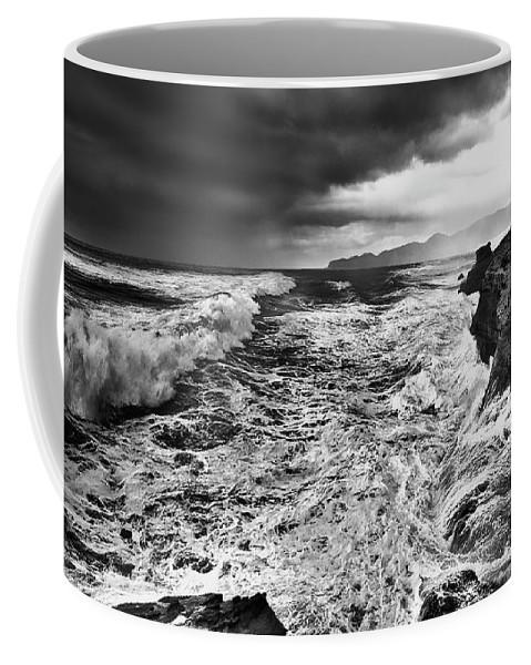 Storm Coffee Mug featuring the photograph Cape Kiwanda Storm by John Christopher