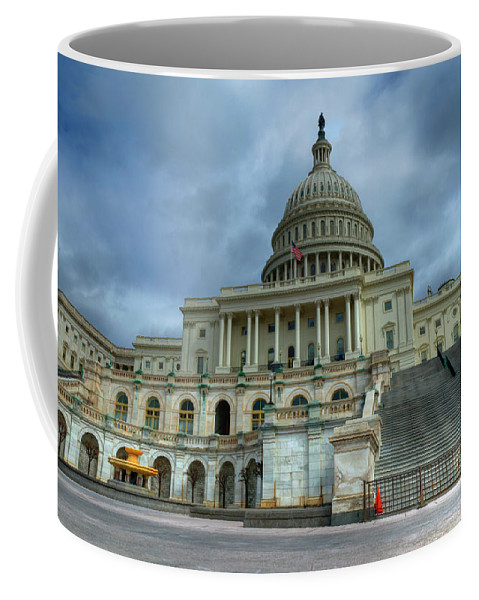 Capital Coffee Mug featuring the photograph Capital Building by Jim Cole