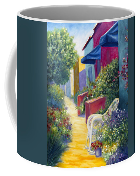 Capitola Coffee Mug featuring the painting Capitola Dreaming by Shannon Grissom