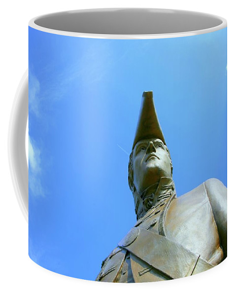 Statue Coffee Mug featuring the photograph Captain Clark by J R Seymour