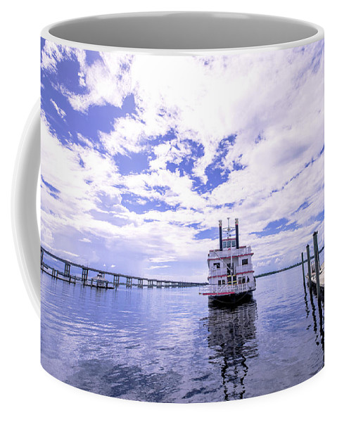 Cruise Coffee Mug featuring the photograph Captain Jp's Paddle Boat by Michael Frizzell