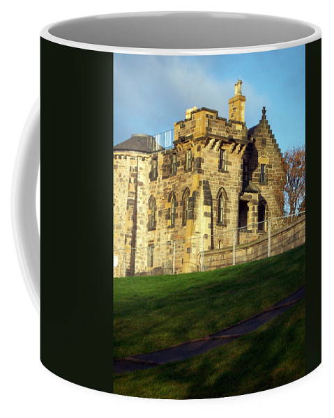 Scotland Coffee Mug featuring the photograph Caption Hill Building by Munir Alawi