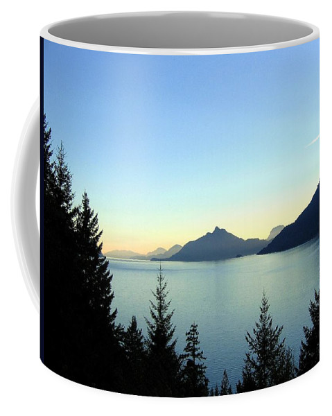Howe Sound Coffee Mug featuring the photograph Captivating Howe Sound by Will Borden