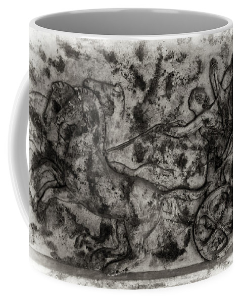 Chariot Coffee Mug featuring the photograph Captured Chariot by Scott Wyatt