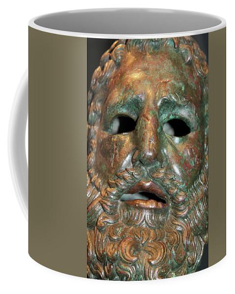 Smoke Coffee Mug featuring the photograph Capturing The Ghost by Munir Alawi