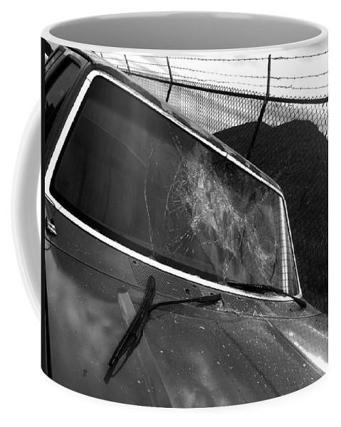Broken Coffee Mug featuring the photograph Car #1 by Julian Grant