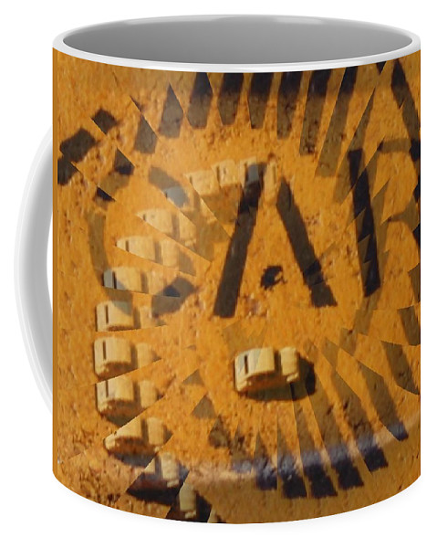Car Coffee Mug featuring the digital art Car by Tim Allen