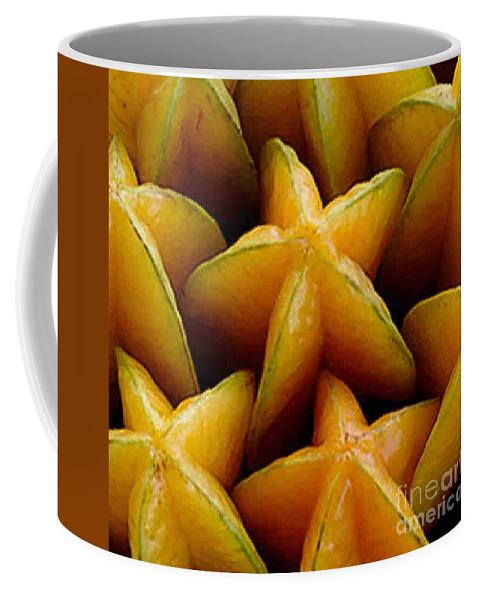Caranbola Coffee Mug featuring the photograph Carambola by Dragica Micki Fortuna