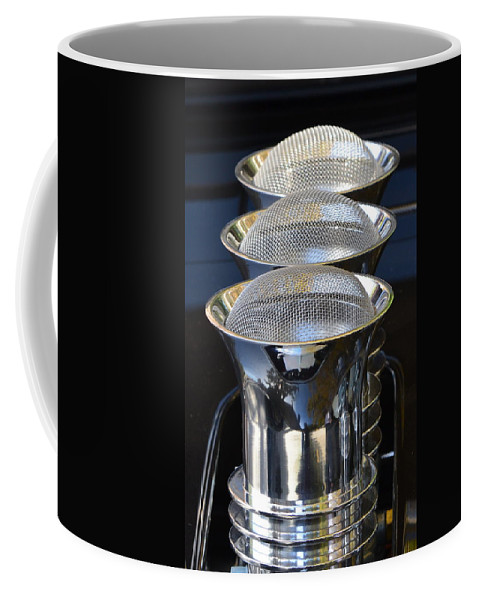 Coffee Mug featuring the photograph Carb Inlets by Dean Ferreira