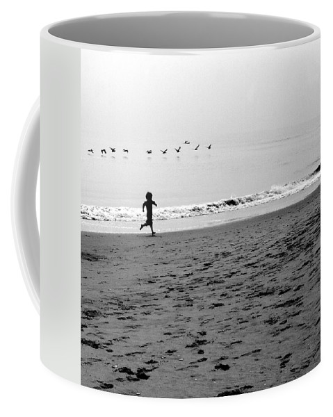 Photograph Coffee Mug featuring the photograph Carefree by Jean Macaluso