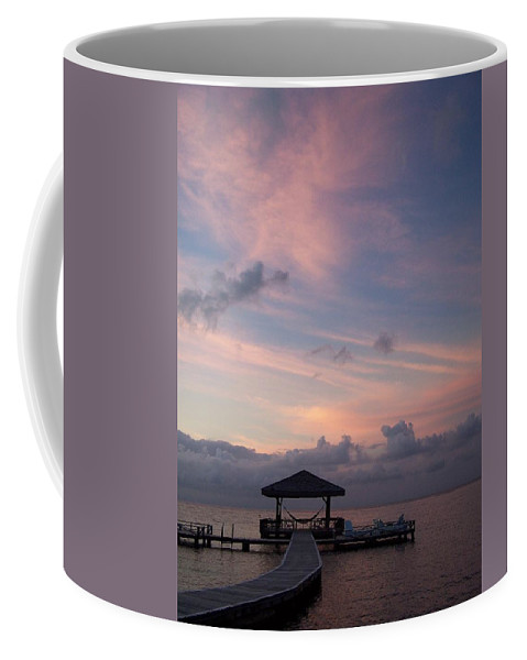 Ocean Coffee Mug featuring the photograph Caribbean Sunrise by Gale Cochran-Smith