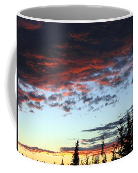 Cariboo Country Sunset Coffee Mug featuring the photograph Cariboo Country Sunset  by Will Borden