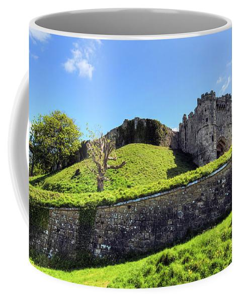 Carisbrooke Castle Coffee Mug featuring the photograph Carisbrooke Castle - Isle Of Wight by Joana Kruse