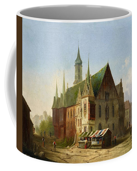 Carl Josef Alois Bourdet Coffee Mug featuring the digital art Carl Josef by Mark Carlson