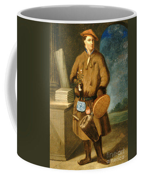 Historic Coffee Mug featuring the photograph Carl Linnaeus, Swedish Botanist by Wellcome Images
