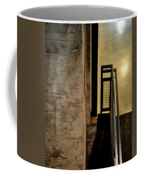Abstract Coffee Mug featuring the photograph Carlton 11 by Tim Nyberg