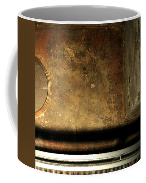 Manhole Coffee Mug featuring the photograph Carlton 13 - Abstract From The Bridge by Tim Nyberg