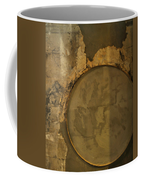Concrete Coffee Mug featuring the photograph Carlton 3 - Abstract Concrete by Tim Nyberg