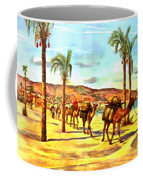 Carmel Coffee Mug featuring the photograph Carmel Mountains by Munir Alawi