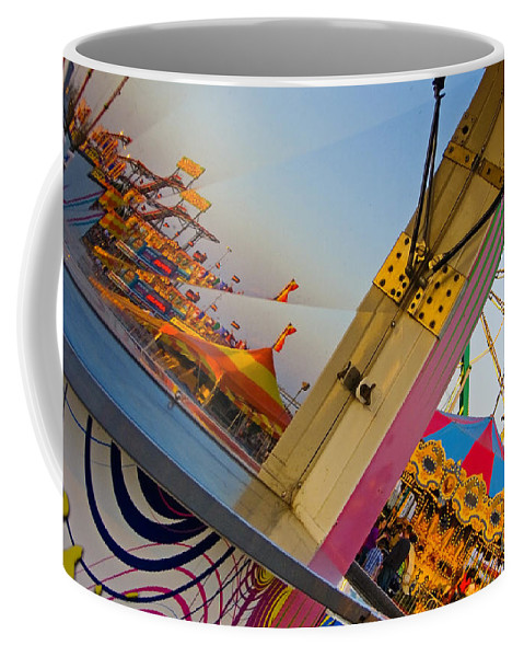 Carnival Coffee Mug featuring the photograph Carnival 1 by Skip Hunt