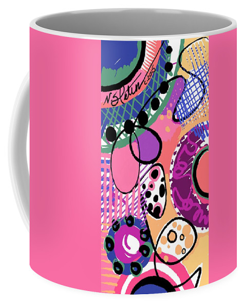 Coffee Mug featuring the digital art Carnival by Nicole Slater