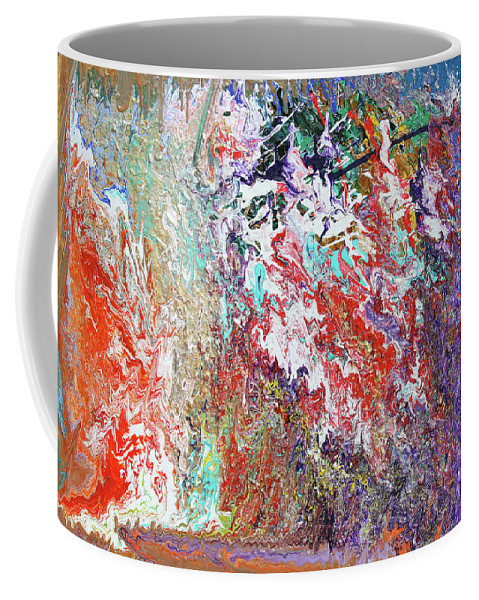 Fusionart Coffee Mug featuring the painting Carnival by Ralph White