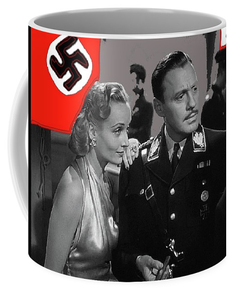 Carole Lombard Jack Benny To Be Or Not To Be 1942-2015 Coffee Mug featuring the photograph Carole Lombard Jack Benny To Be Or Not To Be 1942-2015 by David Lee Guss