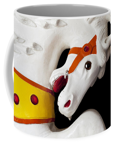 Carousel Coffee Mug featuring the photograph Carousel Horse 2 by Kelley King