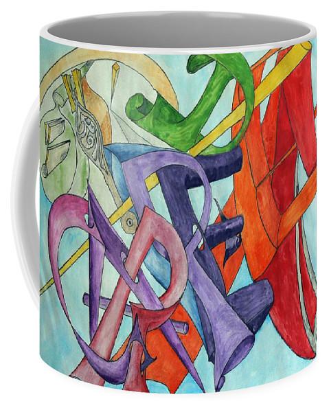 Carpe Diem Coffee Mug featuring the painting Carpe Diem by Helmut Rottler