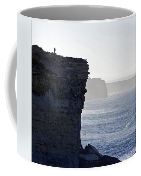 Landscape Coffee Mug featuring the photograph Carried Away By The Moment by Holly Kempe