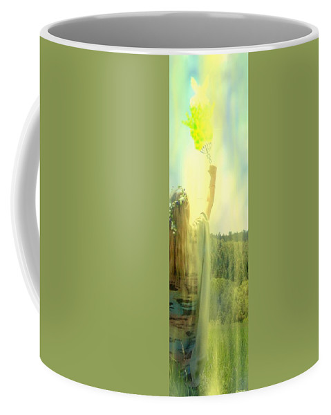 Religious Coffee Mug featuring the photograph Carriers Of The Glory by Anastasia Savage Ealy