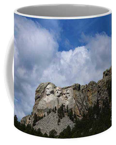 Mount Coffee Mug featuring the photograph Carved In Stone For Eternity by Christiane Schulze Art And Photography