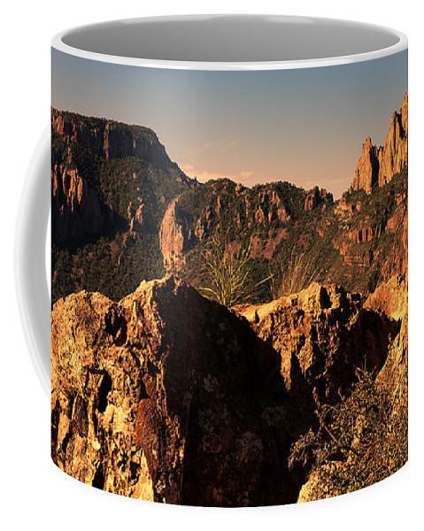Casa Grande Coffee Mug featuring the photograph Casa Grande Peak 3 by Judy Vincent