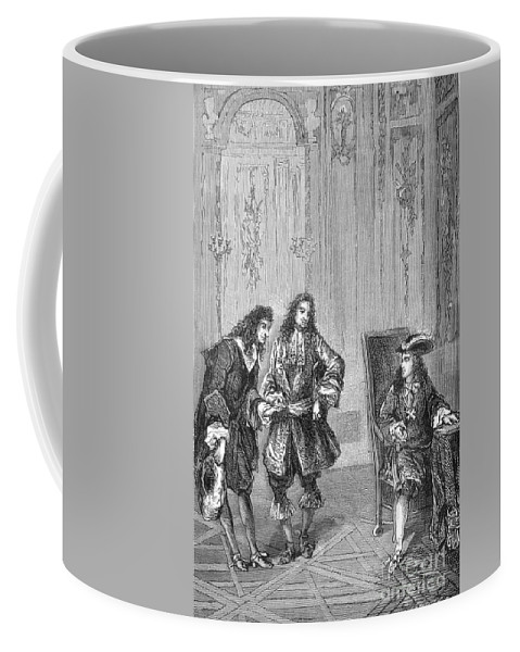 Science Coffee Mug featuring the photograph Cassini Presented To Louis Xiv, 1669 by Science Source