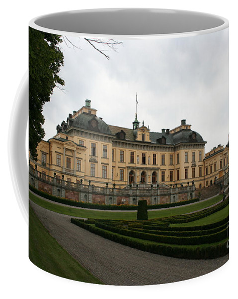 Castle Coffee Mug featuring the photograph Castle Drottningholm by Christiane Schulze Art And Photography