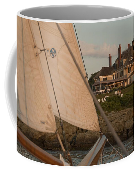 Castle Hill Coffee Mug featuring the photograph Castle Hill by Steven Natanson