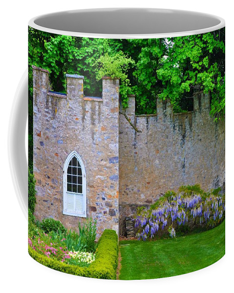 Highlands Coffee Mug featuring the photograph Castle Wall At The Highlands by Bill Cannon