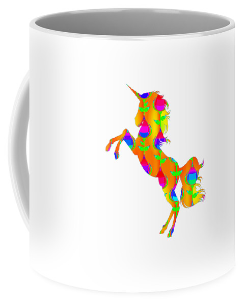 Baby-girl Coffee Mug featuring the digital art Cat 105ddrdd5 by Kaylin Watchorn