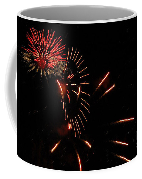 4th Of July Coffee Mug featuring the photograph Cat Burst by Norman Andrus