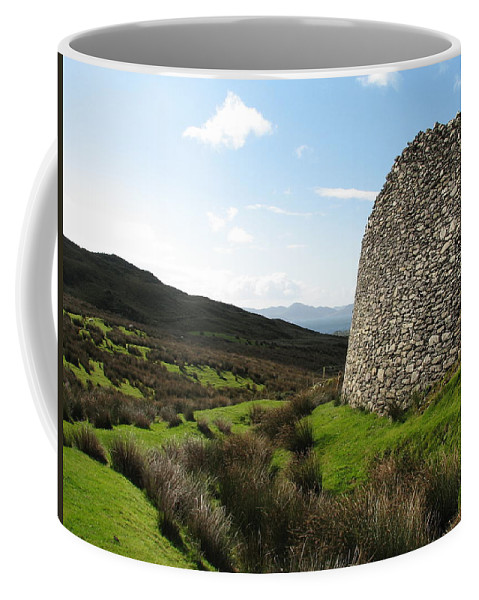 Fort Coffee Mug featuring the photograph Cathair Na Steige by Kelly Mezzapelle