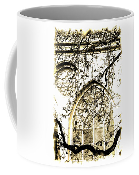 Cathedral Coffee Mug featuring the photograph Cathedral by Lali Kacharava