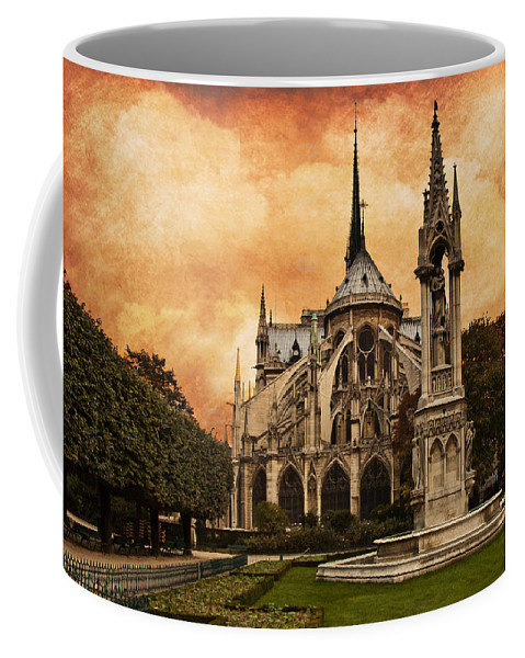 Cathedral Coffee Mug featuring the digital art Cathedral by Mick Burkey