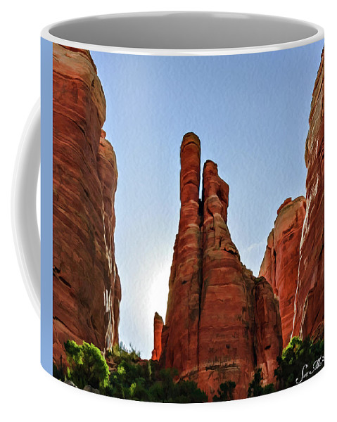 Arizona Coffee Mug featuring the photograph Cathedral Rock 05-155 by Scott McAllister