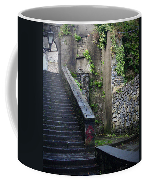 Stairs Coffee Mug featuring the photograph Cathedral Stairs by Tim Nyberg