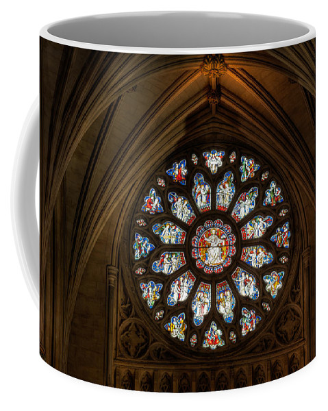 Cathedral Coffee Mug featuring the photograph Cathedral Window by Adrian Evans