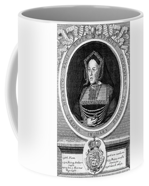 Historic Coffee Mug featuring the photograph Catherine Of Aragon, First Wife by Wellcome Images