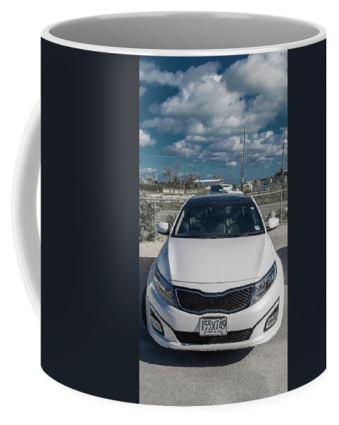 Cayman Coffee Mug featuring the photograph Cayman Islands Cruiser by Betsy Knapp